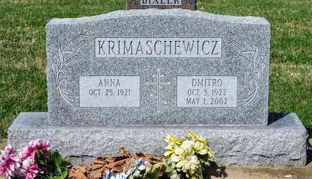 KRIMASCHEWICZ, DMITRO - Wayne County, Ohio | DMITRO KRIMASCHEWICZ - Ohio Gravestone Photos