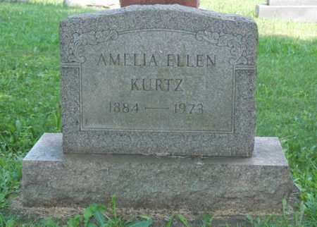 KURTZ, AMELIA ELLEN - Wayne County, Ohio | AMELIA ELLEN KURTZ - Ohio Gravestone Photos