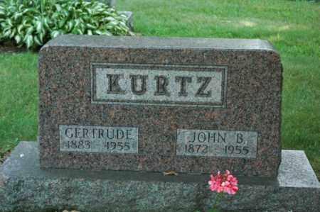 KURTZ, GERTRUDE - Wayne County, Ohio | GERTRUDE KURTZ - Ohio Gravestone Photos