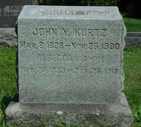 HARTZLER KURTZ, REBECCA - Wayne County, Ohio | REBECCA HARTZLER KURTZ - Ohio Gravestone Photos