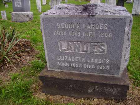 LANDES, REUBEN - Wayne County, Ohio | REUBEN LANDES - Ohio Gravestone Photos