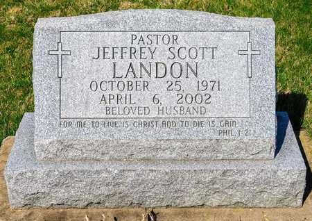LANDON, JEFFREY SCOTT - Wayne County, Ohio | JEFFREY SCOTT LANDON - Ohio Gravestone Photos