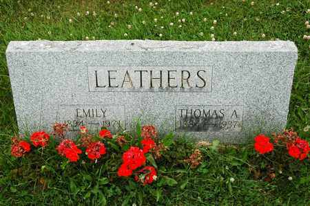 LEATHERS, THOMAS A. - Wayne County, Ohio | THOMAS A. LEATHERS - Ohio Gravestone Photos