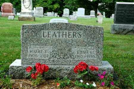 MARTIN LEATHERS, EMMA ISABELLE - Wayne County, Ohio | EMMA ISABELLE MARTIN LEATHERS - Ohio Gravestone Photos