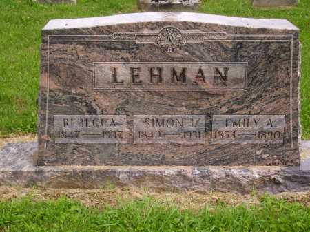 LEHMAN, SIMON I. - Wayne County, Ohio | SIMON I. LEHMAN - Ohio Gravestone Photos