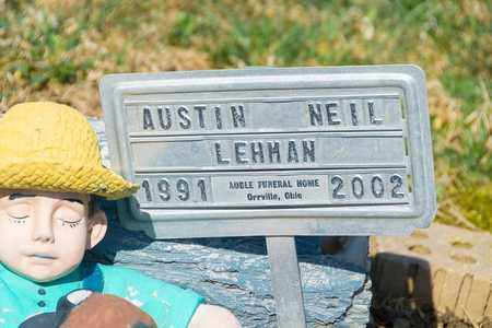 LEHMAN, AUSTIN NEIL - Wayne County, Ohio | AUSTIN NEIL LEHMAN - Ohio Gravestone Photos