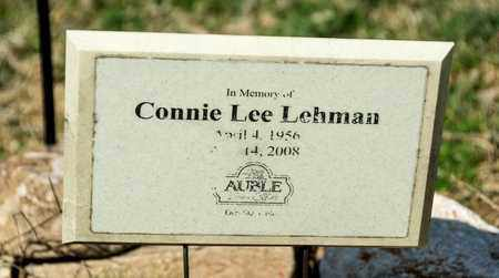 LEHMAN, CONNIE LEE - Wayne County, Ohio | CONNIE LEE LEHMAN - Ohio Gravestone Photos