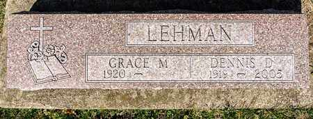 LEHMAN, DENNIS D - Wayne County, Ohio | DENNIS D LEHMAN - Ohio Gravestone Photos
