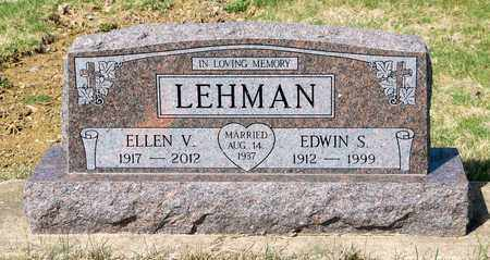 LEHMAN, ELLEN V - Wayne County, Ohio | ELLEN V LEHMAN - Ohio Gravestone Photos