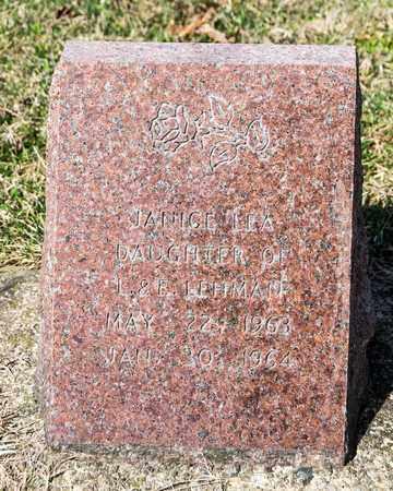 LEHMAN, JANICE LEA - Wayne County, Ohio | JANICE LEA LEHMAN - Ohio Gravestone Photos