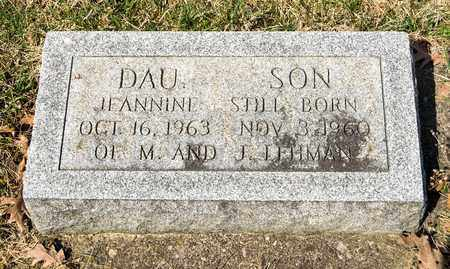 LEHMAN, INFANT SON - Wayne County, Ohio | INFANT SON LEHMAN - Ohio Gravestone Photos