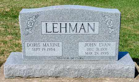 LEHMAN, JOHN EVAN - Wayne County, Ohio | JOHN EVAN LEHMAN - Ohio Gravestone Photos