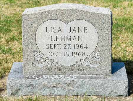 LEHMAN, LISA JANE - Wayne County, Ohio | LISA JANE LEHMAN - Ohio Gravestone Photos