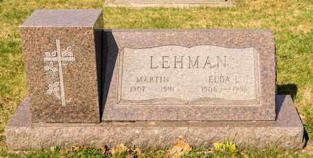 LEHMAN, MARTIN - Wayne County, Ohio | MARTIN LEHMAN - Ohio Gravestone Photos