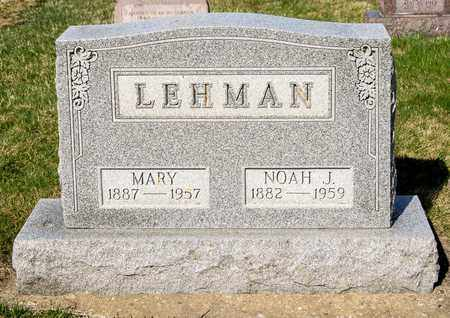 LEHMAN, MARY - Wayne County, Ohio | MARY LEHMAN - Ohio Gravestone Photos
