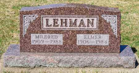 LEHMAN, ELMER - Wayne County, Ohio | ELMER LEHMAN - Ohio Gravestone Photos