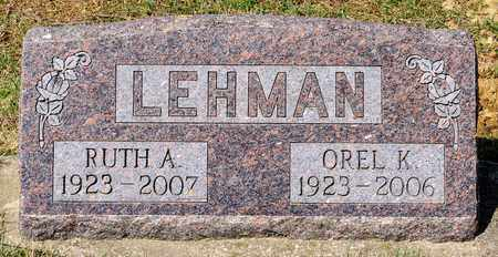LEHMAN, RUTH A - Wayne County, Ohio | RUTH A LEHMAN - Ohio Gravestone Photos