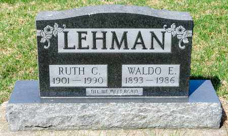 LEHMAN, RUTH C - Wayne County, Ohio | RUTH C LEHMAN - Ohio Gravestone Photos