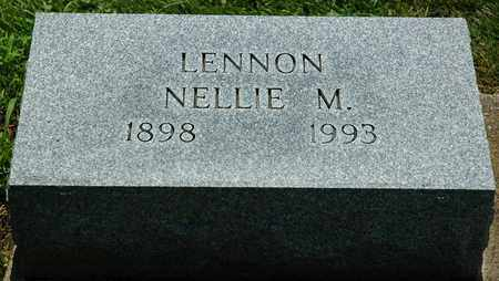 LENNON, NELLIE M. - Wayne County, Ohio | NELLIE M. LENNON - Ohio Gravestone Photos