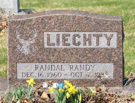 LIECHTY, RANDAL - Wayne County, Ohio | RANDAL LIECHTY - Ohio Gravestone Photos