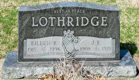 LOTHRIDGE, EILEEN K - Wayne County, Ohio | EILEEN K LOTHRIDGE - Ohio Gravestone Photos