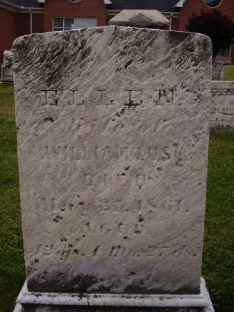 LUSK, ELLEN - Wayne County, Ohio | ELLEN LUSK - Ohio Gravestone Photos