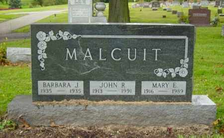MALCUIT, BARBARA J. - Wayne County, Ohio | BARBARA J. MALCUIT - Ohio Gravestone Photos