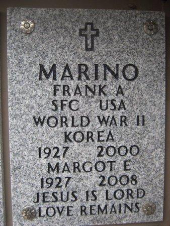 MARINO, MARGOT - Wayne County, Ohio | MARGOT MARINO - Ohio Gravestone Photos