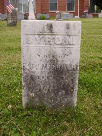 MCCONNELL, BYRON - Wayne County, Ohio | BYRON MCCONNELL - Ohio Gravestone Photos