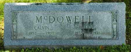 HASSLER MCDOWELL, ALICE - Wayne County, Ohio | ALICE HASSLER MCDOWELL - Ohio Gravestone Photos