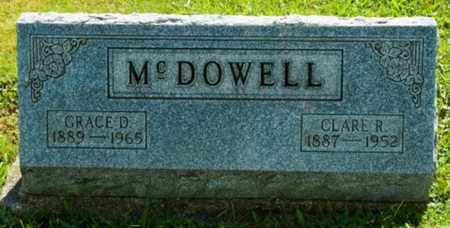 ZAUGG MCDOWELL, GRACE D. - Wayne County, Ohio | GRACE D. ZAUGG MCDOWELL - Ohio Gravestone Photos