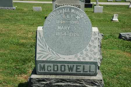 MCDOWELL, J. MARSHALL - Wayne County, Ohio | J. MARSHALL MCDOWELL - Ohio Gravestone Photos