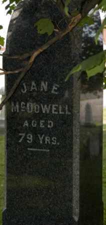 MCDOWELL, JANE - Wayne County, Ohio | JANE MCDOWELL - Ohio Gravestone Photos