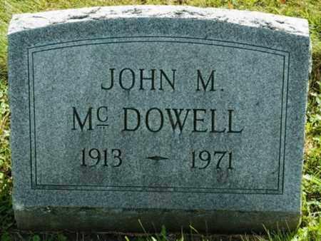MCDOWELL, JOHN M. - Wayne County, Ohio | JOHN M. MCDOWELL - Ohio Gravestone Photos