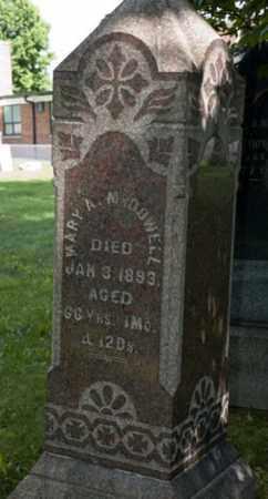 BELL MCDOWELL, MARY ANN - Wayne County, Ohio | MARY ANN BELL MCDOWELL - Ohio Gravestone Photos