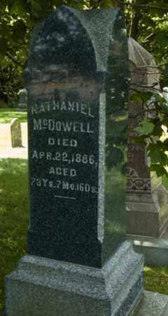 MCDOWELL, NATHANIEL - Wayne County, Ohio | NATHANIEL MCDOWELL - Ohio Gravestone Photos