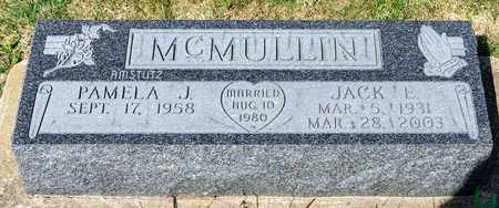 MCMULLIN, JACK E - Wayne County, Ohio | JACK E MCMULLIN - Ohio Gravestone Photos