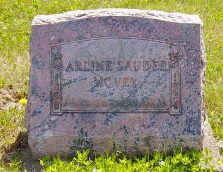 MCVEY, ARLINE - Wayne County, Ohio | ARLINE MCVEY - Ohio Gravestone Photos
