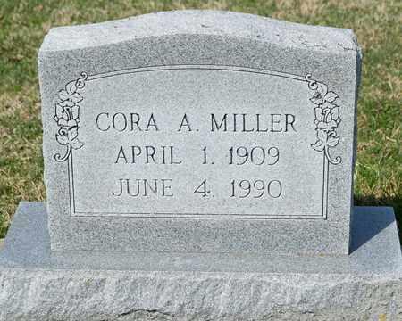 MILLER, CORA A - Wayne County, Ohio | CORA A MILLER - Ohio Gravestone Photos