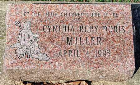MILLER, CYNTHIA RUBY DORIS - Wayne County, Ohio | CYNTHIA RUBY DORIS MILLER - Ohio Gravestone Photos