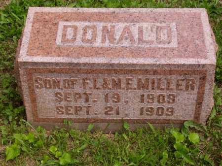 MILLER, DONALD - Wayne County, Ohio | DONALD MILLER - Ohio Gravestone Photos