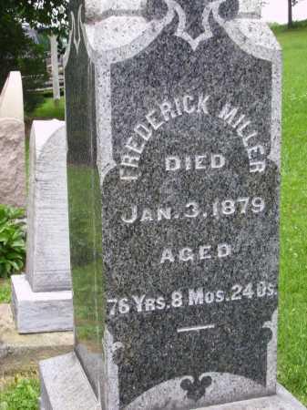 MILLER, FREDERICK - Wayne County, Ohio | FREDERICK MILLER - Ohio Gravestone Photos