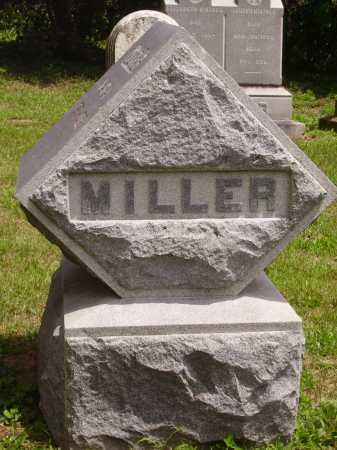 MILLER FAMILY, MONUMENT - Wayne County, Ohio | MONUMENT MILLER FAMILY - Ohio Gravestone Photos