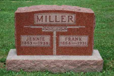 MILLER, JENNIE - Wayne County, Ohio | JENNIE MILLER - Ohio Gravestone Photos