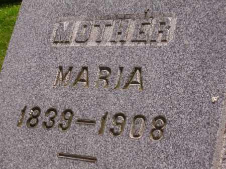 MILLER, MARIA - Wayne County, Ohio | MARIA MILLER - Ohio Gravestone Photos