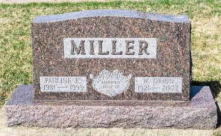 MILLER, W ORION - Wayne County, Ohio | W ORION MILLER - Ohio Gravestone Photos