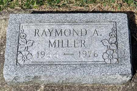 MILLER, RAYMOND A - Wayne County, Ohio | RAYMOND A MILLER - Ohio Gravestone Photos