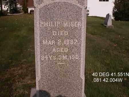 MISER, PHILIP - Wayne County, Ohio | PHILIP MISER - Ohio Gravestone Photos