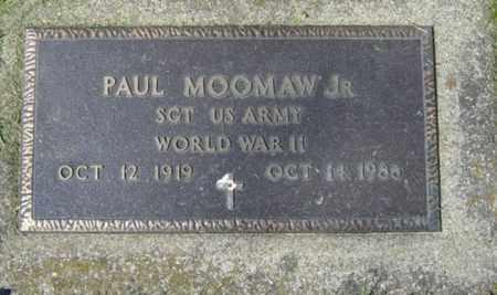 MOOMAW, PAUL JR. - Wayne County, Ohio | PAUL JR. MOOMAW - Ohio Gravestone Photos