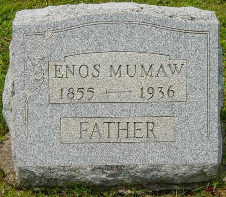 MUMAW, ENOS - Wayne County, Ohio | ENOS MUMAW - Ohio Gravestone Photos